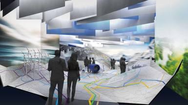 Deutscher Pavilion Expo 2017, Kasachstan